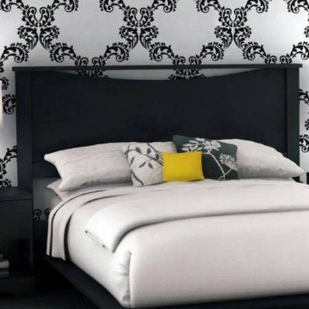laguna queen bed with headboard, truffle  walmart, Headboard designs