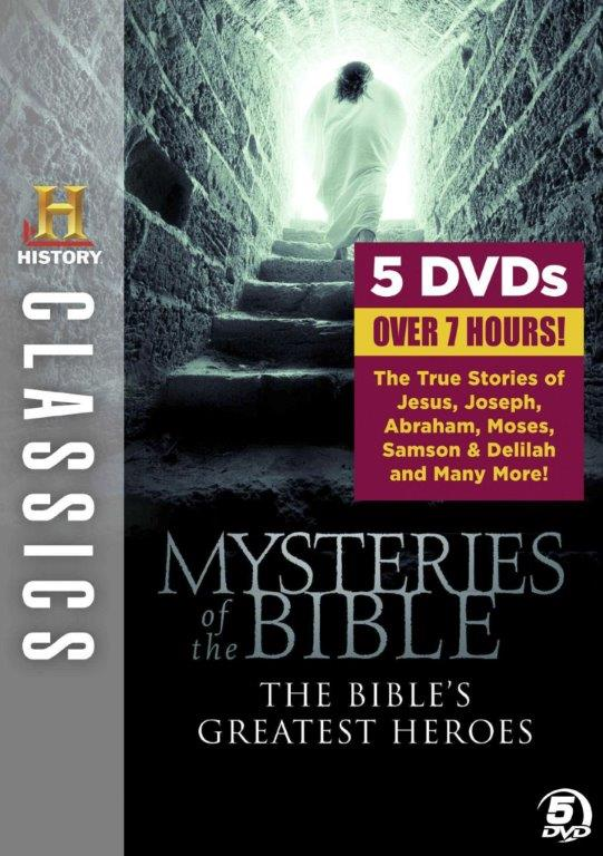 History Classics: Mysteries of the Bible: Bible's Greatest Heroes (DVD) by A&E Home Video