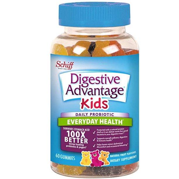 Digestive Advantage Kids Daily Probiotic Gummies, 60 ct