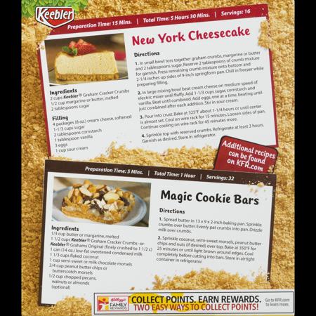 Keebler: Graham Cracker Crumbs Sweet Crispy texture, 13.50 ...