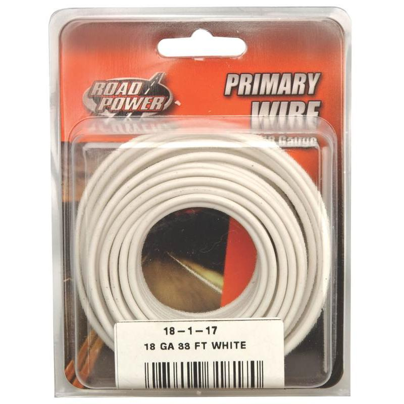 WIRE ELEC 18AWG CU 33FT CD PVC Coleman Cable Wire 18-1-17 Copper 085407318170