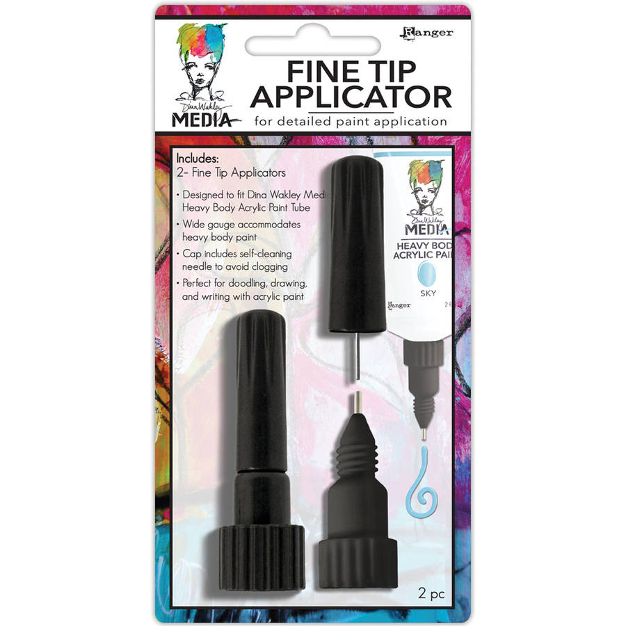 Dina Wakley Fine Tip Applicator, 2pk