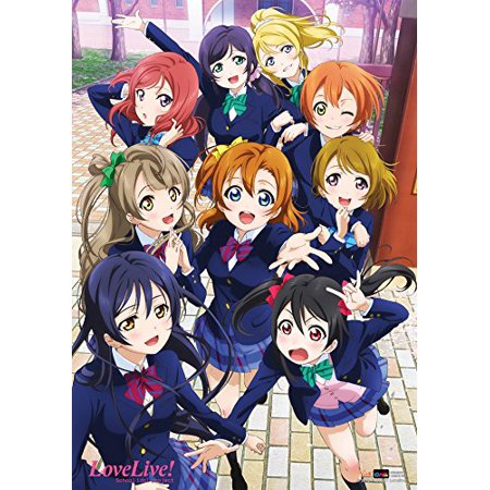 Cws 22101 Love Live School Idol Project Anime Wall Scroll Poster Officially Licensed Product