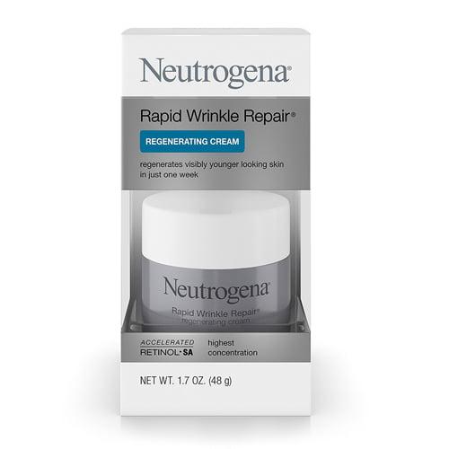 Neutrogena Rapid Wrinkle Repair Regenerating Cream, 1.7 oz