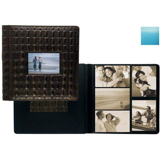 Raika RO 113 TURQUOISE Frame Front 4 x 6 Large Album - Turquoise