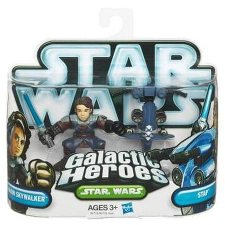 Star Wars Galactic Heroes 2010 Cad Bane & Aurra Sing Mini Figure 2-Pack