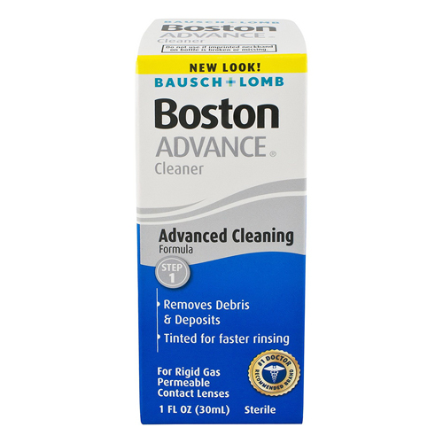 Bausch And Lomb Boston Advance Contact Lens Cleaner, 1 Oz, 3 Pack by