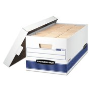 "Bankers Box Storage/File - 24"" Letter, Pack of 4"
