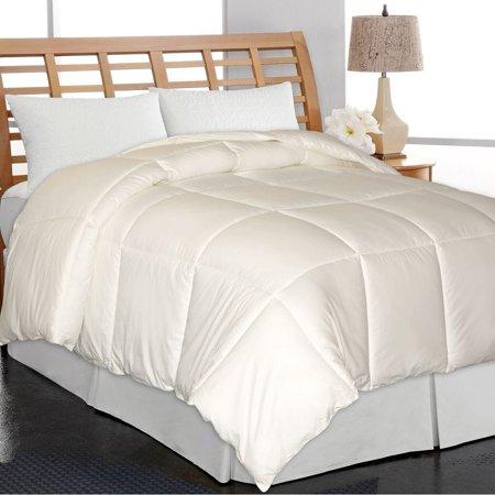 Elle  Home Eco Unbleached Cotton Down Alternative Comforter Eco Friendly Comforter