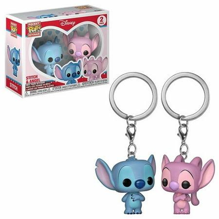 FUNKO POP! KEYCHAIN: Lilo & Stitch - Stitch & Angel 2PK](Angel Lilo And Stitch)