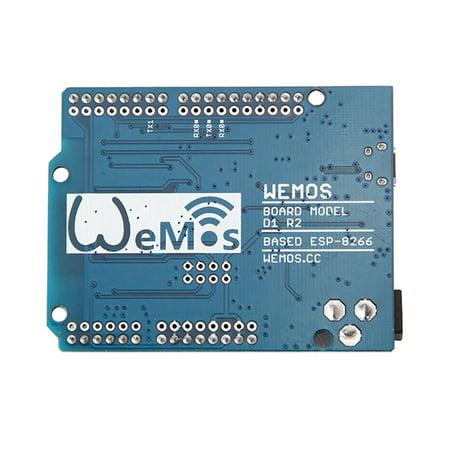 WeMos D1 R2 WiFi ESP8266 UNO ESP-12E IOT Development Board