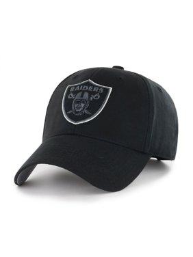 NFL Oakland Raiders Black Mass Basic Adjustable Cap/Hat by Fan Favorite