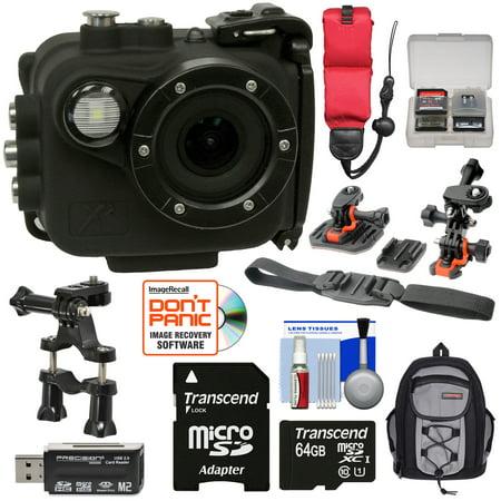 Intova X2 Marine Grade Wi-Fi HD Video Action Camera