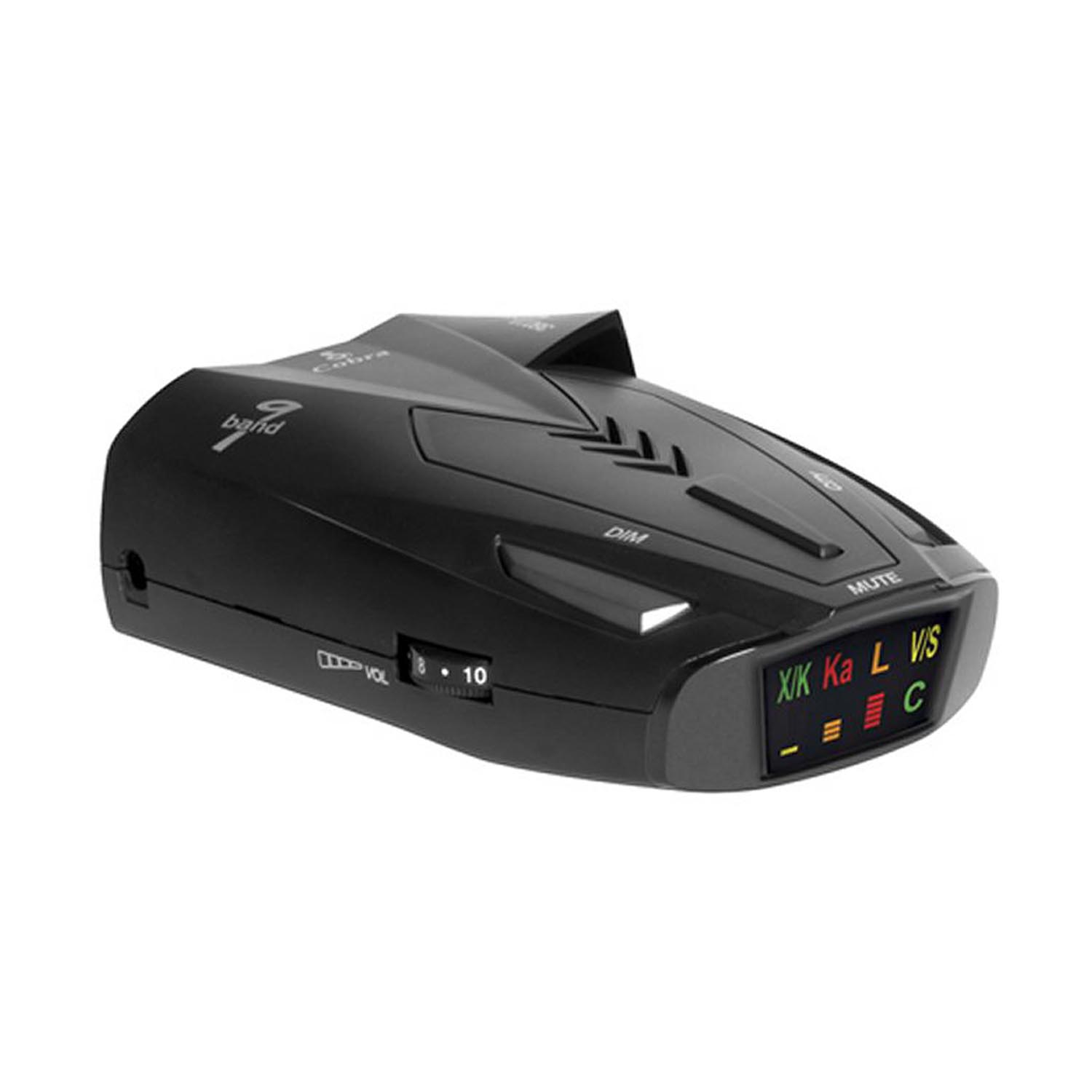 Buy Cobra 9 Band Laser Police Radar Detector with Safety Alert & LaserEye | ESD9275 by Cobra Electronics