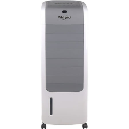 Indoor Air - Whirlpool 155 CFM Indoor Evaporative Air Cooler with Remote Control and Ice Pack in White