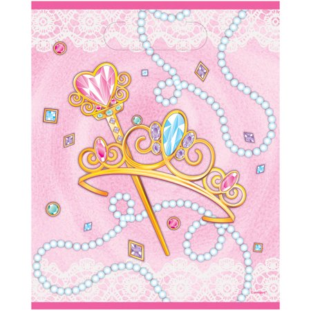 Jeweled Stick (Jeweled Pink Princess Favor Bags,)
