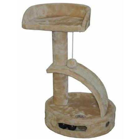 Go Pet Club F3008 Cat Tree Scratcher Furniture - 18 x 12 x 23.25 in. ()