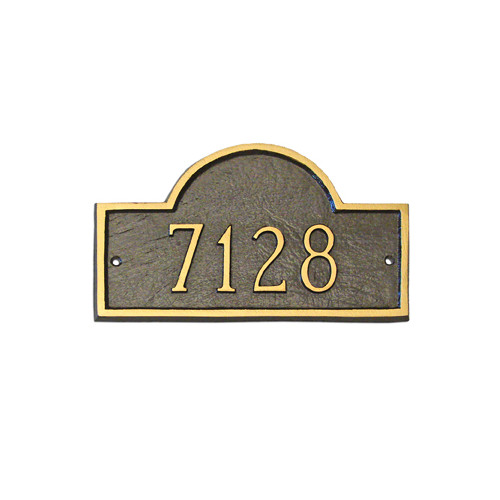 Montague Metal Products Inc. Classic Arch Standard Address Plaque