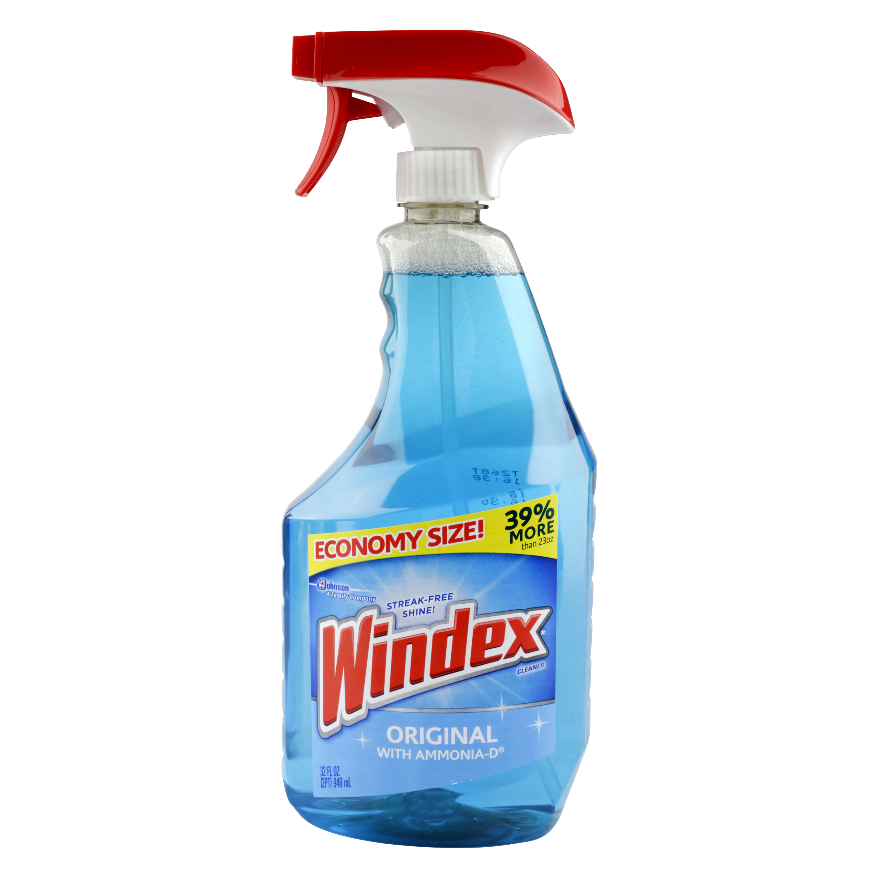 Windex Economy Size 32 fl. oz. Original with Ammonia D Trigger Bottle