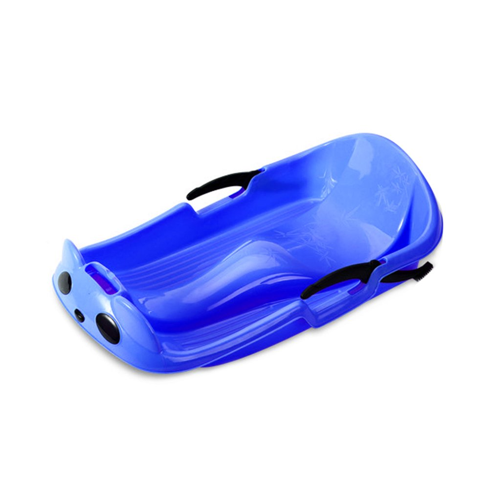Wear-resistant Frost-resistant Thickened Sled Snowboard Grass Skiing Car Sliding Plate with Security Brake For Kids by Publix Hagen Inc
