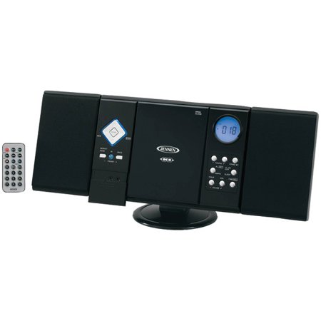 Jensen JMC-180 Wall-Mountable CD System with AM FM Stereo Receiver by