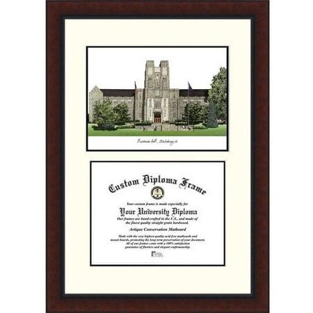 Virginia Diploma Frames - Virginia Tech Legacy 13.5 x 15.5 Scholar Diploma Frame