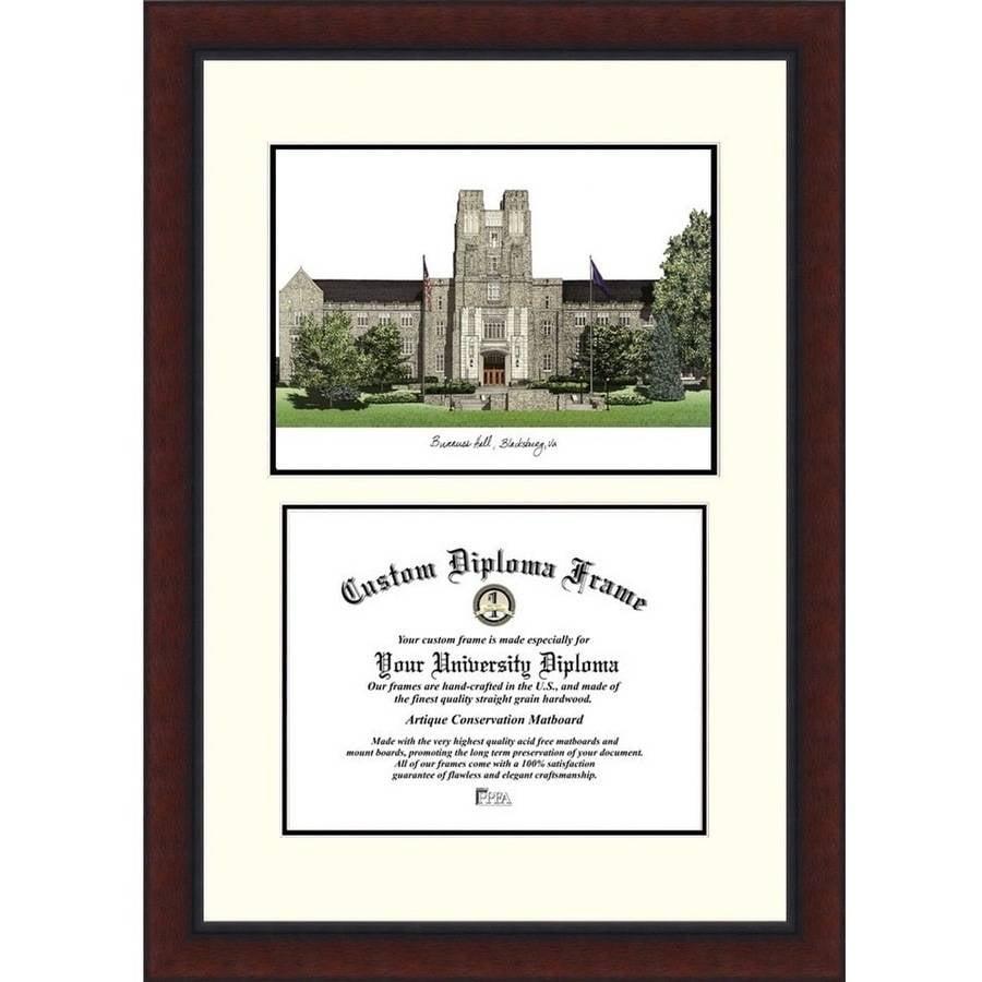 Virginia Tech Legacy 13.5 x 15.5 Scholar Diploma Frame