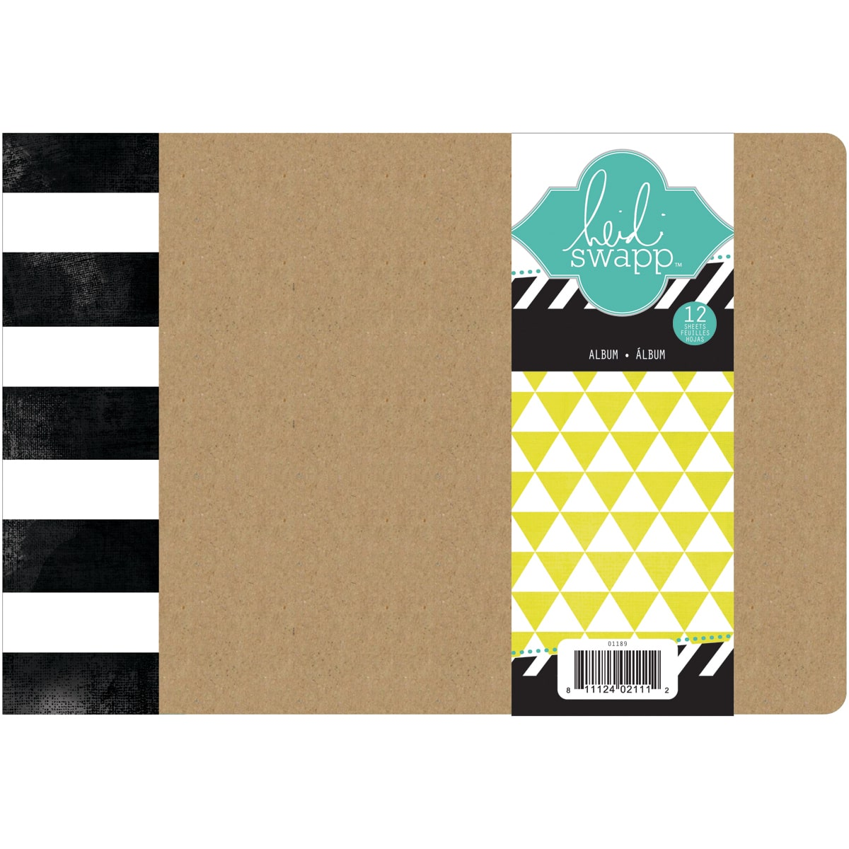 "Favorite Things Chipboard Album 6"" x 8"", with 12 Page Protectors"