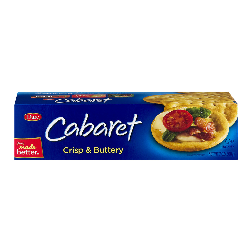 Dare Cabaret Crisp & Buttery Crackers, 7.0 OZ by Dare Foods