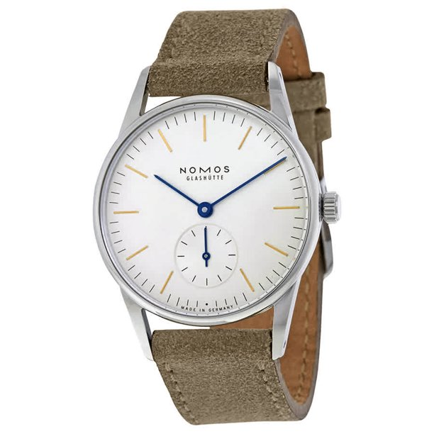 Nomos Orion 33 White Dial Stainless Steel Ladies Watch 322