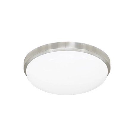 Jesco Lighting CM402S-30 Envisage LED 1 Light Convertible Flush Mount Ceiling Fi