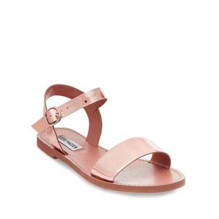 14a685856f2 Steve Madden - Donddi Leather Sandals - Walmart.com