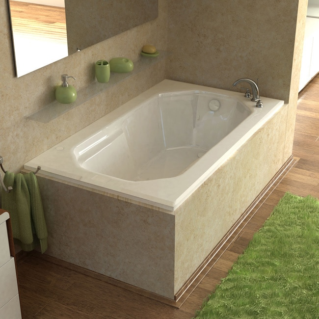 Atlantis Whirlpools  Mirage 36 x 60 Rectangular Air Jetted Bathtub in White