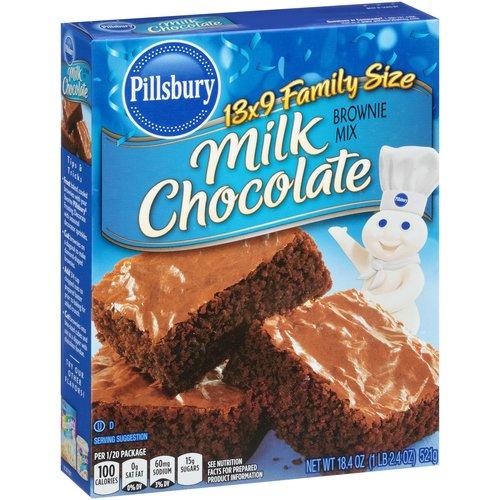 Pillsbury Milk Chocolate Brownie Mix, 18.4 oz