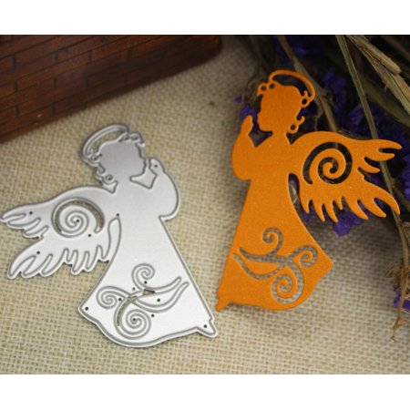 Huppin's Hot Sale Merry Christmas Metal Cutting Dies Stencils Scrapbooking Embossing DIY Crafts A ()
