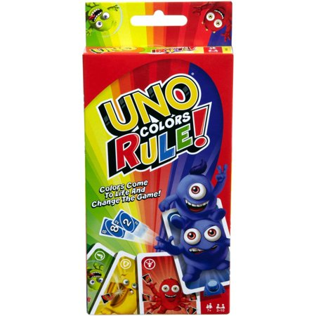 UNO Colors Rule Card Game (Uno Game Rules)