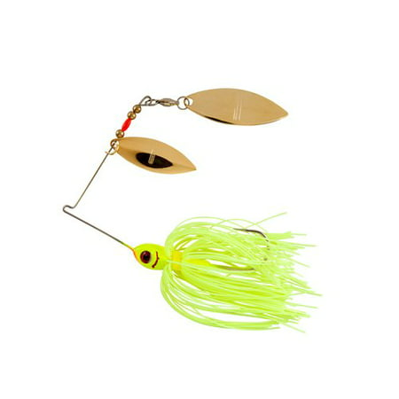BOOYAH Blade Double Willow Chartreuse 3/8 Oz