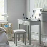 Belham Living Florence Vanity Set - Gray