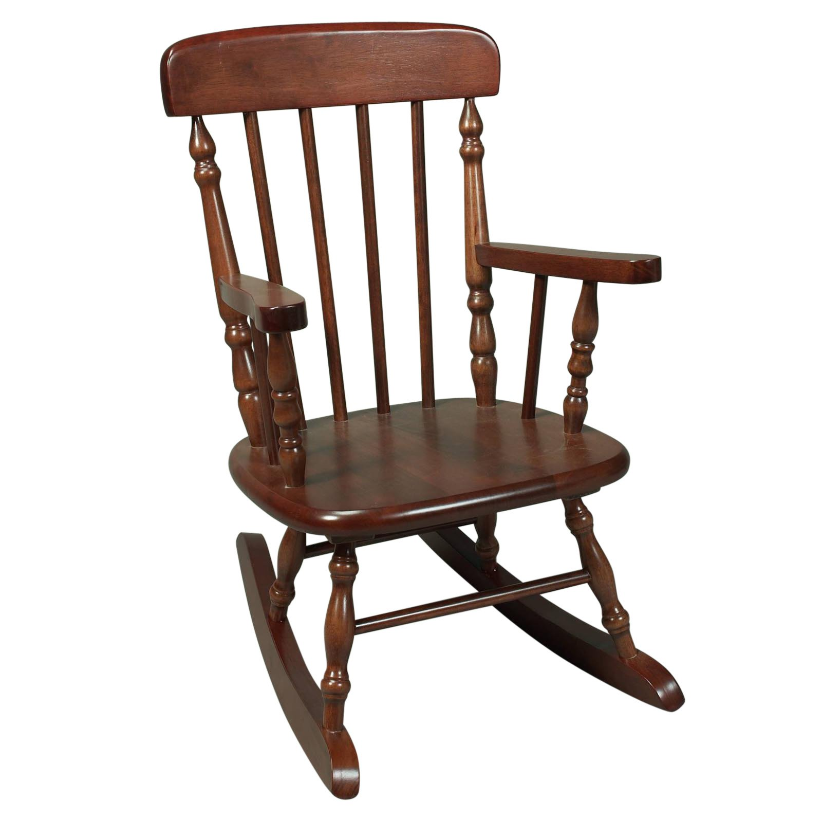 Kids Spindle Rocking Chair Walmart
