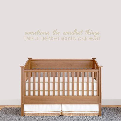 Zoomie Kids Sometimes the Smallest Things Wall Decal (Set of 3)