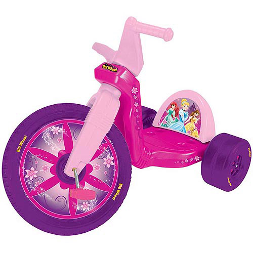 "Disney Licensed Princess 16"" Big Wheel Racer"