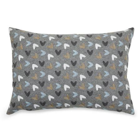 MoDRN Scandinavian Embroidered Decorative Throw Pillow, 14