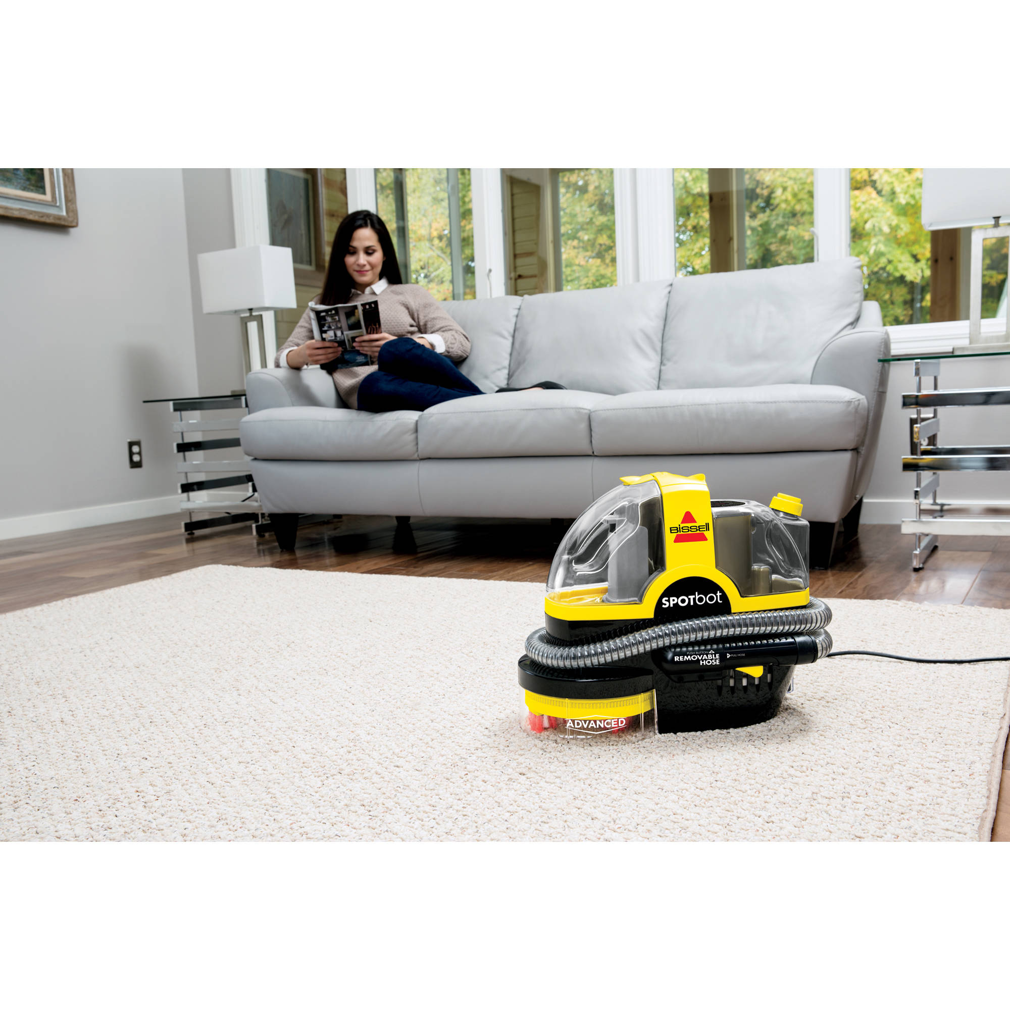 Bissell spotbot pet portable spot and stain cleaner 33n8a walmart fandeluxe Choice Image