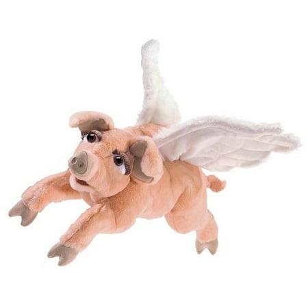 Hand Puppet - Folkmanis - Flying Pig New Toys Soft Doll Plush 3120 - image 3 de 3