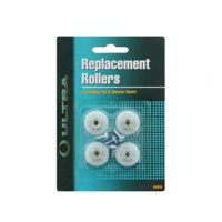 "ultra hardware 64550 shower door roller 7/8"" wheel (1 pack, 4pcs)"