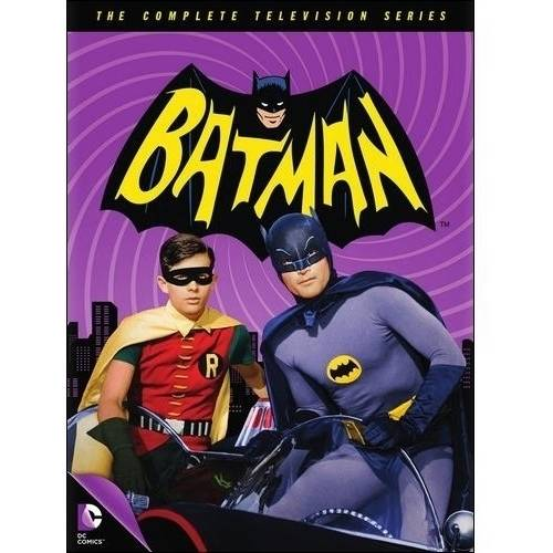 BATMAN-COMPLETE TELEVISION SERIES (DVD/FF/18 DISC)