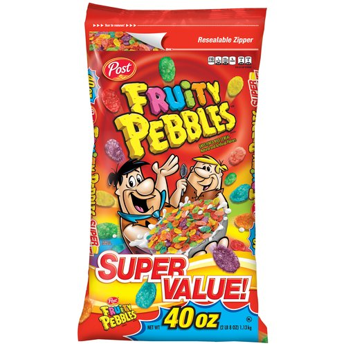 Fruity Pebbles Cereal, 40 oz