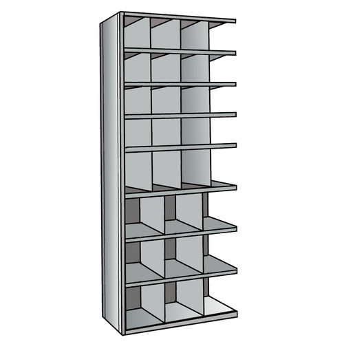 Hallowell Hi-Tech Bin 87'' H 8 Shelf Shelving Unit Add-on