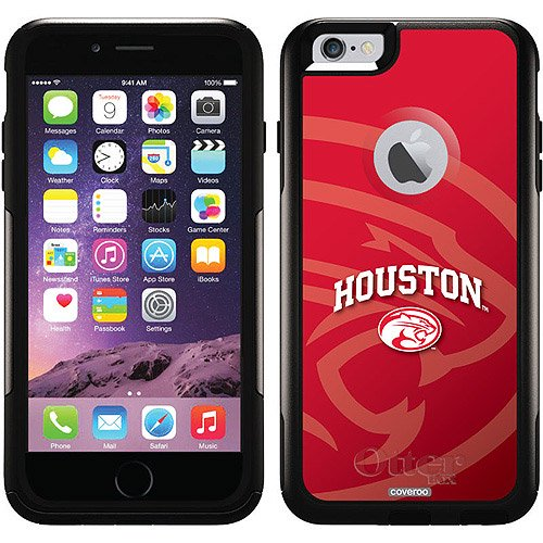 74c41c3d64f University of Houston Cougars Red Design on OtterBox Commuter Series Case  for Apple iPhone 6 Plus - Walmart.com