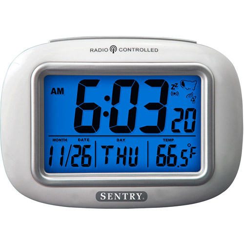 Sentry Big Screen Weather Atomic Clock